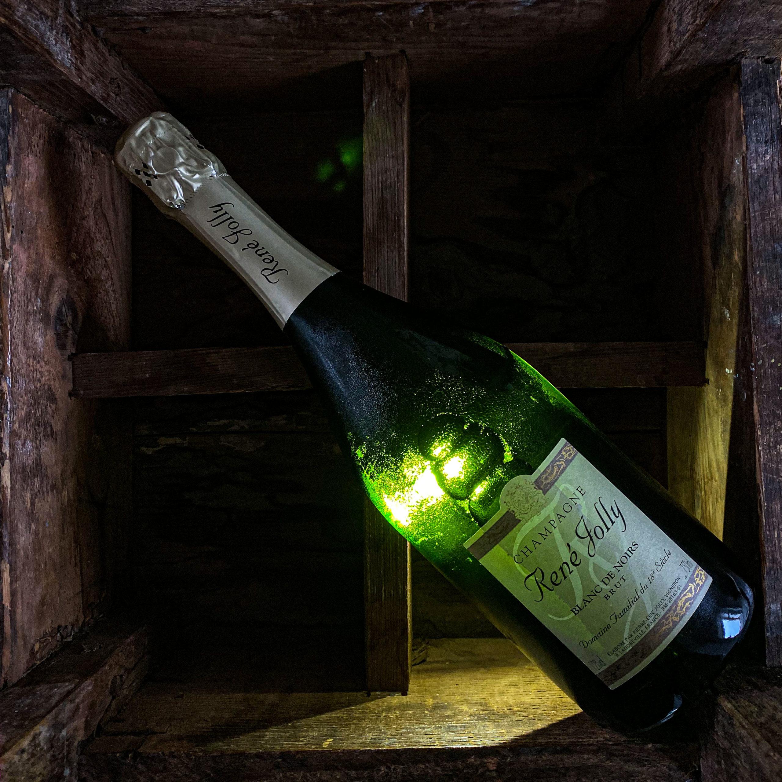René Jolly   Blanc de Noir   100% Pinot Noir