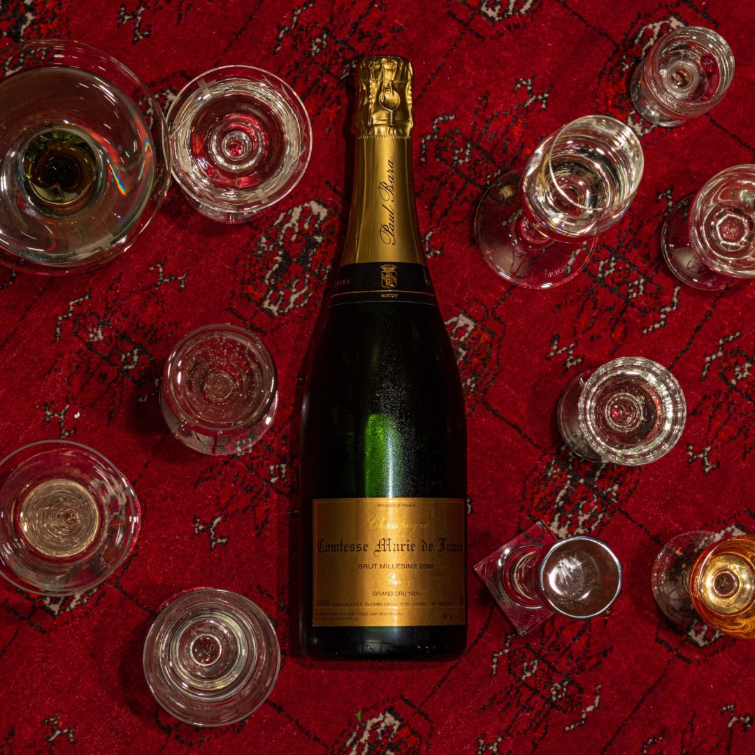 Comtess Marie de France | Paul Bara | 100% Pinot Noir | Grand Cru Bouzy | Montage de Reims
