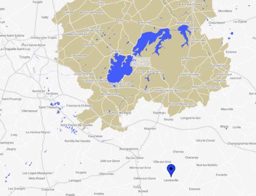 Karte/Standort Landreville