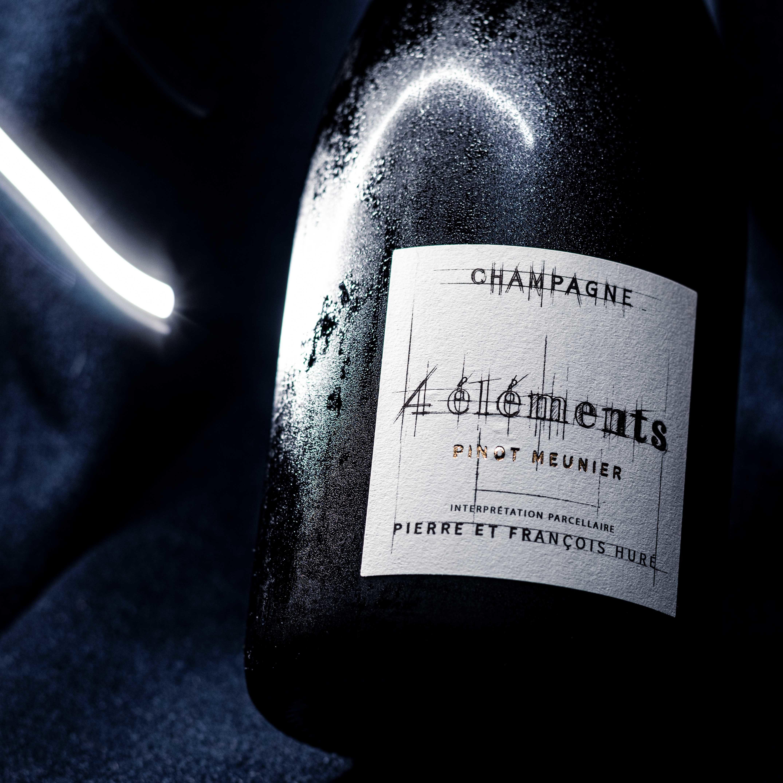 4 Elements Pur Meunier | Huré Frères | 100% Pinot Meunier | Premiere Cru Ludes | Montage de Reims
