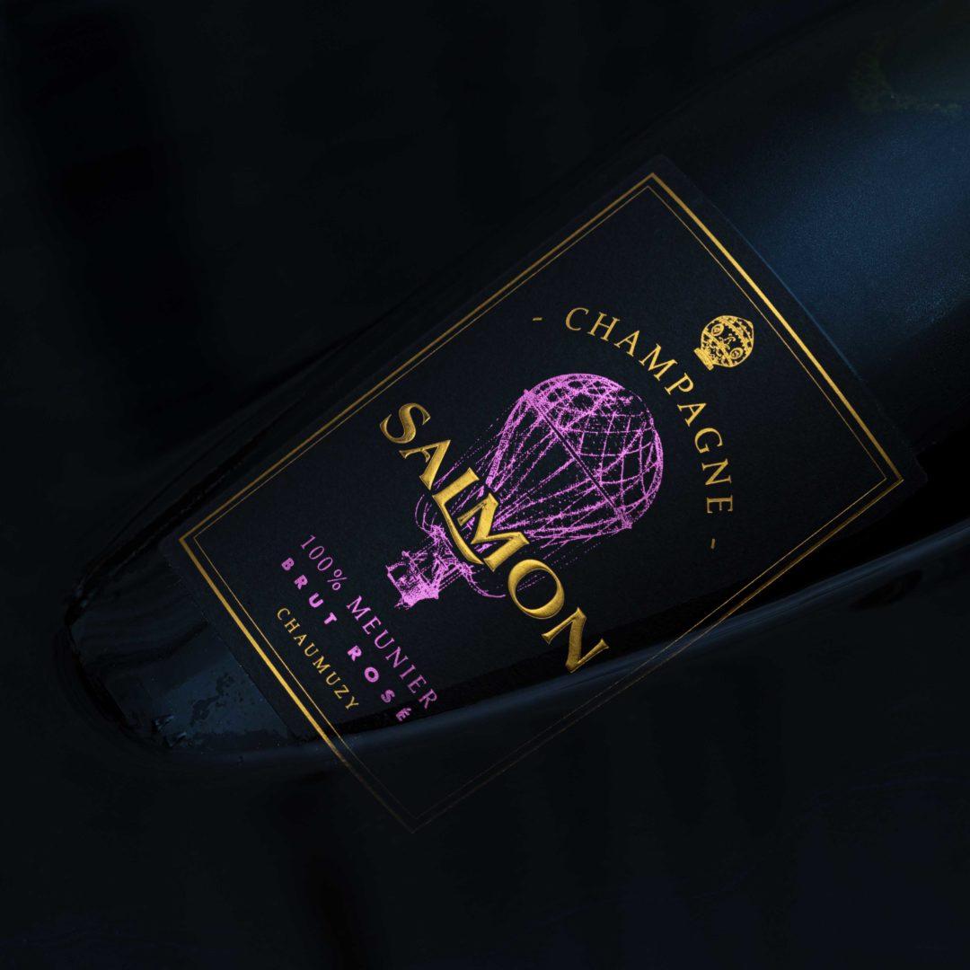 Meunier Brut Rosé | Salmon | 100% Pinot Meunier | Autre Cru Chaumuzy | Montage de Reims